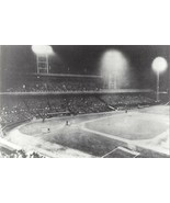 CROSLEY FIELD 8X10 PHOTO MLB PICTURE CINCINNATI REDS 1st NIGHT GAME MAY ... - $3.95