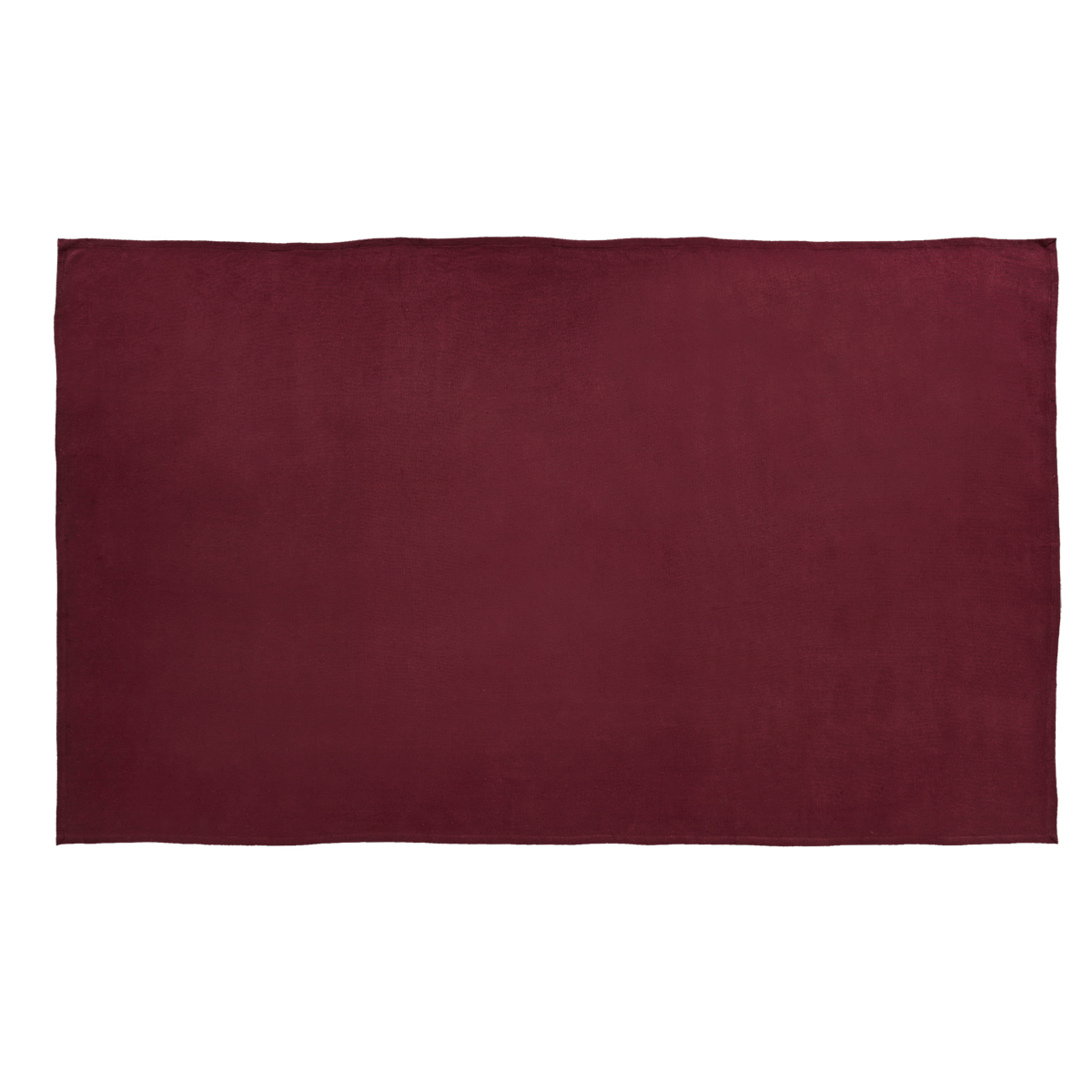BURLAP MERLOT Table Cloth - 60x102 - Country Farmhouse - VHC Brands