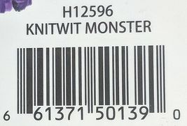GANZ H12596 Orange One Eyed  KnitWit Monster Multi Colored 10 Inch 3 Plus age image 8
