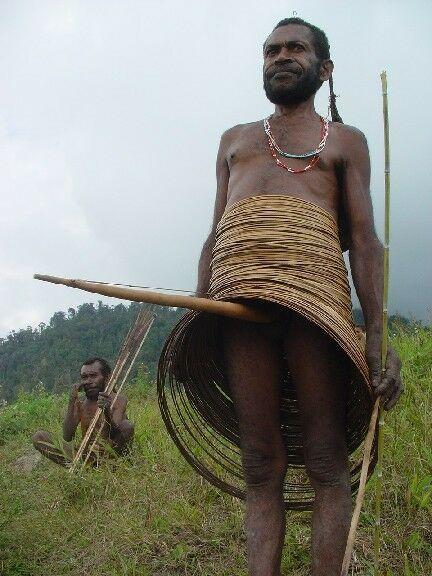 Yali Tribe Male Penis Gourd very rare Old Phallocrypt Fiber Twine Irian Jaya -