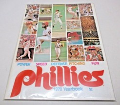 1978 Philadelphia Phillies Official Yearbook MLB Baseball Clean - $13.74