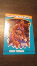 1990 Fleer All-Stars Isiah Thomas - $0.00