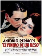 Decorative Poster.Interior wall art design.Movie The Poisoned Kiss.Drama... - $9.90+