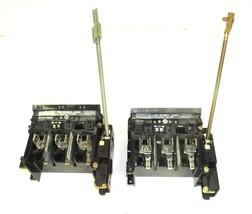 LOT OF 2 ALLEN BRADLEY 1494V-DS60 DISCONNECT SWITCH 60A, 600VAC, 250VDC, SER. A