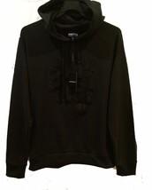 Emporio Armani Men's Black Cotton Logo Hood Sweater Size 2XL $395 NEW - $173.24