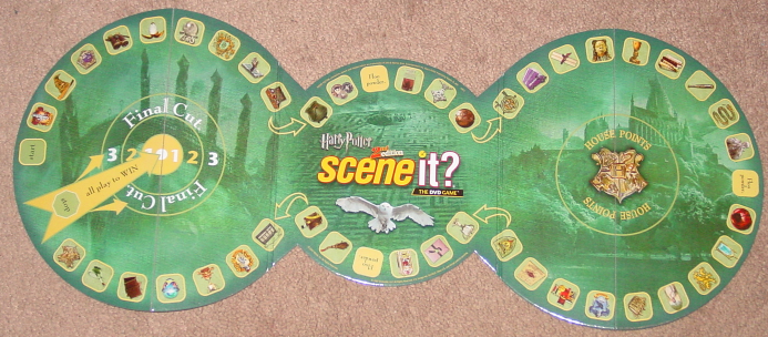 SCENE IT DVD GAME HARRY POTTER 2ND EDITION DELUXE 2007 SCREENLIFE MATTEL COMPLET image 4