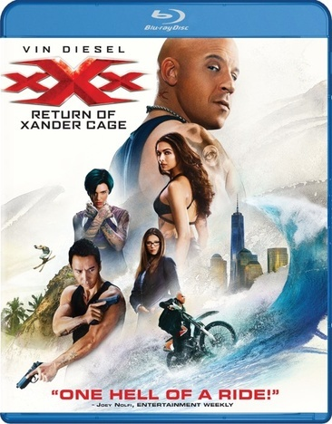 Xxx-Return Of Xander Cage (Blu Ray/DVD W/Digital Hd)