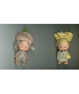 BUTTER COOKIE & APRICOT Strawberry Shortcake dolls + DECORATIVE WALL TIL... - $10.00
