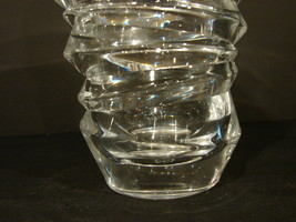 Modern Braginsky Crystal Slice Vase by Nachtmann  image 3