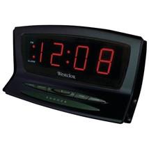 Westclox 70012BK Instant-Set LED Alarm Clock - €27,73 EUR