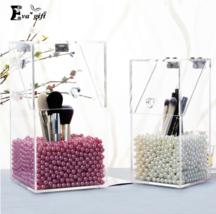Eva Gift® Crystal Acrylic Makeup Brush box Organizer Makeup Cosmetic Sto... - $286,46 MXN+