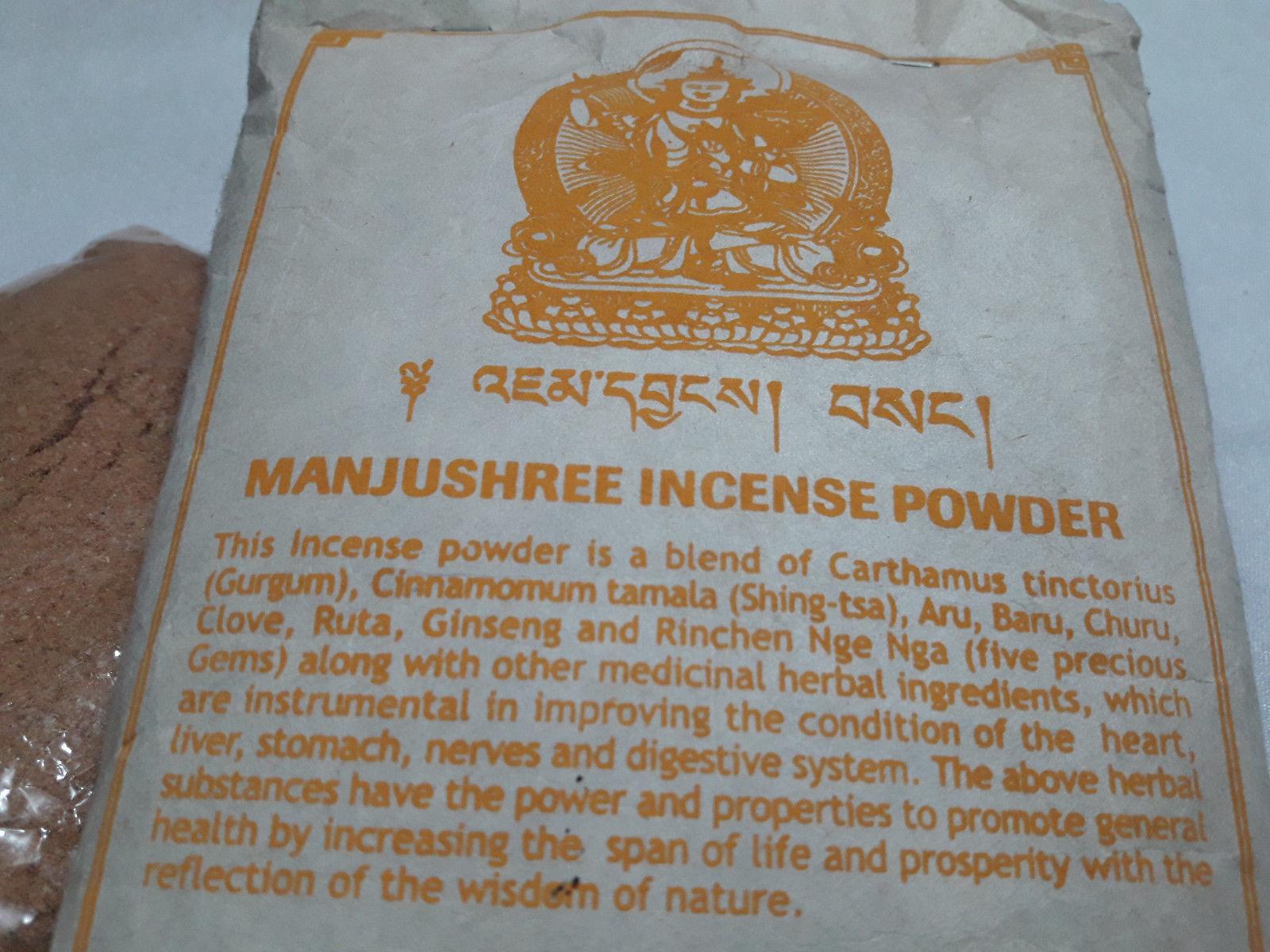 Manjushree Tibetan Incense Powder, Nepal