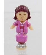 1994 Vintage Lot Polly Pocket Doll Magical Mansion - Laura Bluebird Toys - $7.50