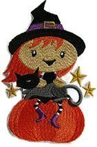 BeyondVision Custom And Unique Happy Halloween [ Winifred Witch And Cat]... - $14.84