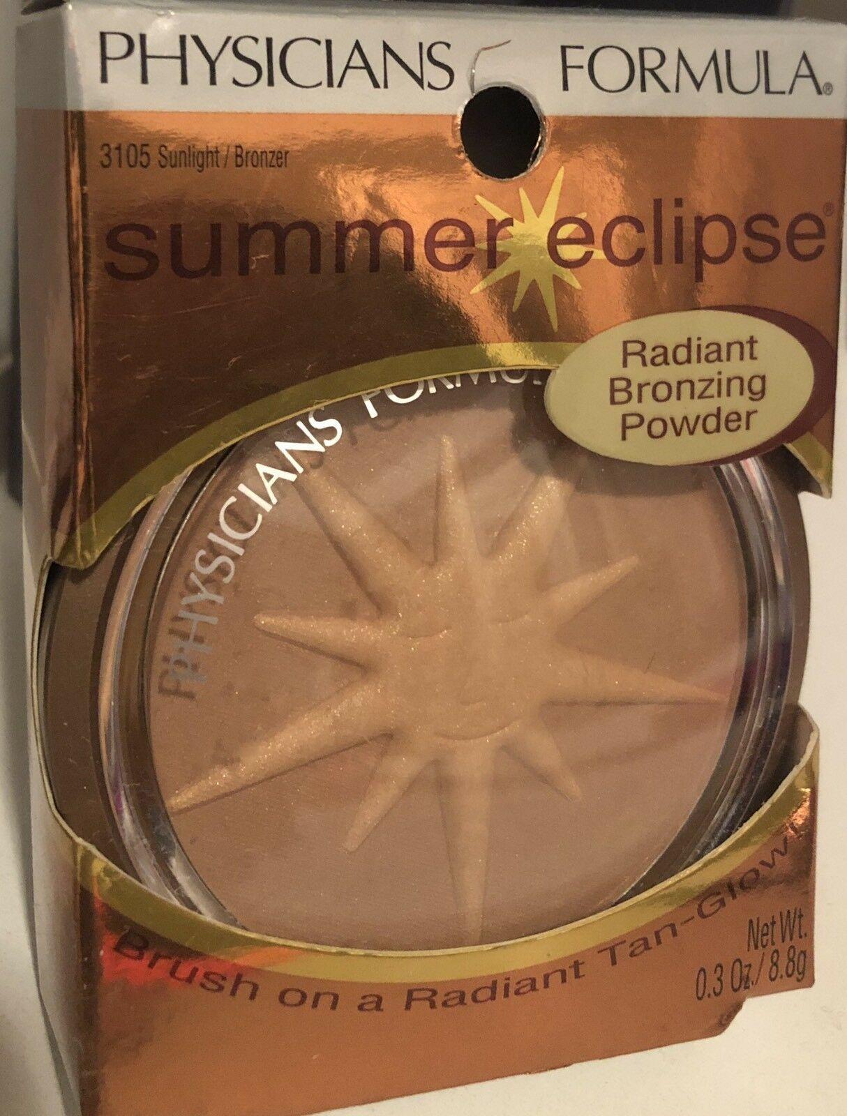 Physicians Formula Summer Eclipse Radiant Bronzing Powder Sunlight Bonzer - 3105 - $13.99