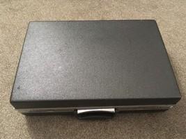 "Vintage Samsonite 4.75"" Wide Black Briefcase - $44.99"