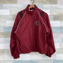 Adidas VTG 90s South Carolina Gamecocks Windbreaker Jacket Red Youth XL 18 20 - $39.59
