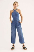 New Free People Double Dutch Jumpsuit  $128 Size 2 - $51.48