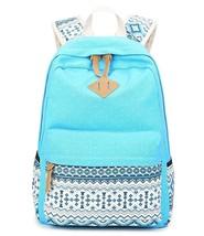 Abshoo Cute Lightweight Canvas Bookbags School Backpacks for Teen Girls - $28.66