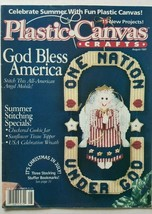 Plastic Canvas Magazine August 1997 Summer Stitching American Angel - $3.95