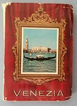 Venezia Italy Souvenir Picture Pocket Size Pull Out Photo Book Fotocolor... - $3.95