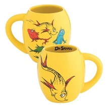 Dr. Seuss One Fish Two Fish Illustrated 18 ounce Oval Ceramic Mug, NEW U... - $12.55