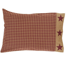 Ninepatchstar pillowcase appliqueborder 21x30 thumb200
