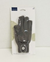Insignia Multi-color LED Gloves with Lights Large NS-CFLGL-S Gray - $3.99