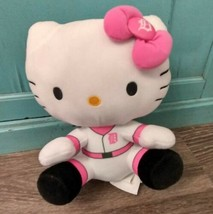 "Sanrio Officially Licensed MLB Hello Kitty Detroit Tigers Baseball 9"" Pl... - $19.75"