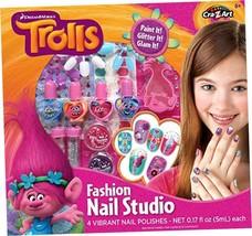 Cra-Z-Art Trolls Nail Studio Building Kit - $13.76