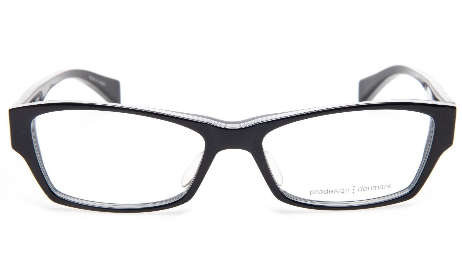 NEW PRODESIGN DENMARK 4675 c.6022 BLACK EYEGLASSES FRAME 52-17-140 B31mm Japan