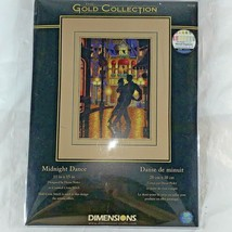 Dimensions Gold Collection Counted Cross Stitch Kit Midnight Dance 11 X 15 35248 - $29.68