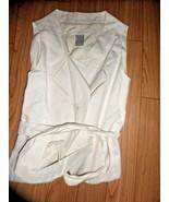 CHLOE Women's Vest with Belt size 36 Authentic - $178.19