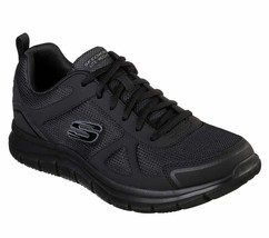 52631 Wide Fit Black Skechers shoe Men Memory Foam Sport Comfort Train S... - $47.99