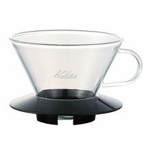 Carita Kalita coffee Wave series glass dripper 185 [2 to 4 for people] B... - $49.46