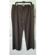 Women's Charter Club Women's Pan SIze 16 Katherine Fit @ the waist Brown... - $17.82