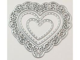 Lacy Heart Dies, Set of 3