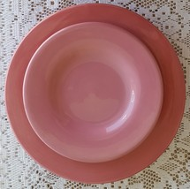 Hausenware Pink Dinnerware Stoneware Dinner and... - $19.99