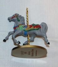 Hallmark  Keepsake Ornament Handcrafted Holly 2nd in collection 1989 Pre-Owned - $16.33