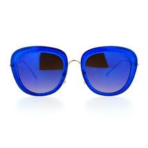 Glitter Sparkle Sunglasses Womens Square Frame Pop Bling Fashion Mirror ... - £7.61 GBP+