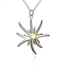 Pendants, star fish collier CP026 - $15.99