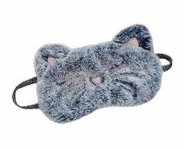 Cute Animal Cartoon Cat Sleep Eye Mask Soft Eye Cover Blindfold Mask