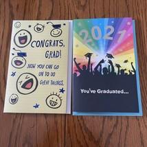 Lot Of 2 2021 Graduation Cards-Plays MUSIC!  1*FOOTLOOSE!!*  1 Sleeping - $7.91