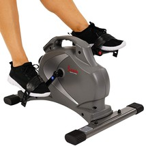 Sunny Health & Fitness SF-B0418 Magnetic Mini Exercise Bike, Gray - $107.76