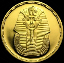 EGYPT: REPUBLIC ☆GOLD PROOF☆50 Pounds☆ AH 1414 (1993) ☆ PCGS PR69 DEEP C... - $2,220.00