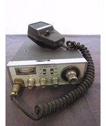 Vintage Cobra 21 CB Radio Citizen Band with Lafayette Mic & Mounting Bra... - $19.90
