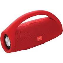 Supersonic Bluetooth Portable Speaker With Built-in Handle (red) SSCSC23... - $60.22 CAD