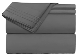 Clara Clark Premier 1800 Series 4 Piece Tiwn Sheet Set Brushed Microfibe... - $27.95