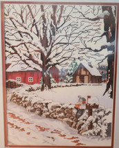 Something Special Winter Scene 50320 Counted Cross Stitch Kit 16x20 New 1987 - $26.10