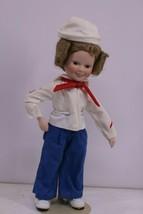 "1994 Shirley Temple Doll Danbury Mint ""Captain January"" - $15.00"
